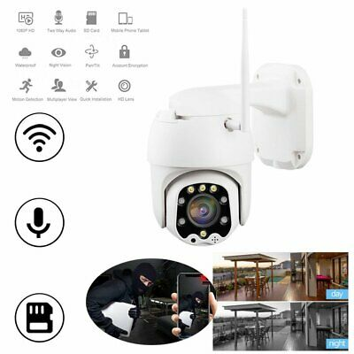 Wireless 20X Zoom 1080P HD IP Camera WIFI PTZ Outdoor Waterproof Home Security