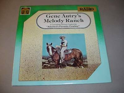 GENE AUTRY'S MELODY RANCH LP Original Radio Broadcasts - Golden Age 5012