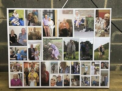 PERSONALISED 30 X 20 COLLAGE Huge CANVAS PRINTS Your PHOTO ON  2inch DEEP FRAME