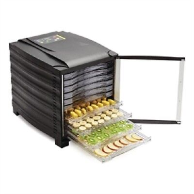 Buffalo 10 Tray Dehydrator with digital timer and door - CD965 Catering