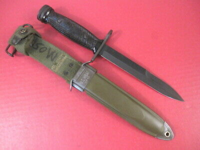 post-WWII US Army M1 Carbine Bayonet w/Plastic Handle M8A1 Scabbard - Conetta #2