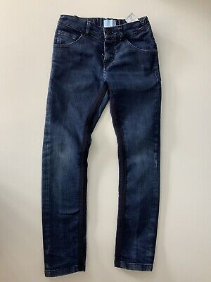 Lanvin Boys Skinny Jeans, Blue Denim, Size Age 8 Years, GC