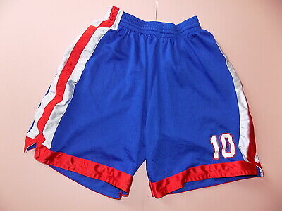 be38a3304d Vintage retro blue red & white Lago basketball boxing sport shorts size M