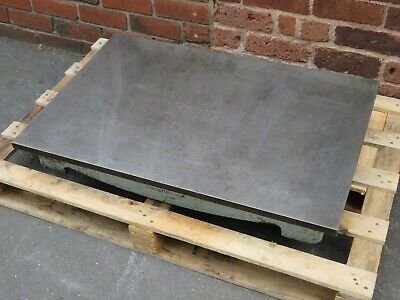 """Windley 36"""" x 24"""" Cast Iron Surface Plate Welding Table Includes VAT"""