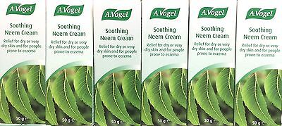 6x A.Vogel Soothing Neem Cream 50g Multibuy