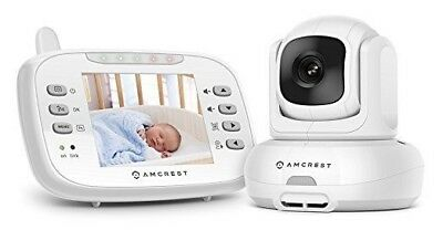 Amcrest Video AC-1 Baby Monitor Pan/Tilt/Zoom Camera 3.5 inch LCD Refurbished