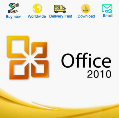 Office 2010 Professional Plus Key 32/64 Bit Genuine 🔥 Fast delivery