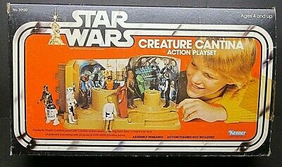 Star Wars Creature Cantina Action Playset Kenner 39120 Complete Box Instructions