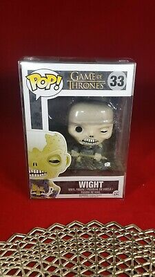 Game of Thrones Wight #33 Funko Pop Ships w Protector Vaulted