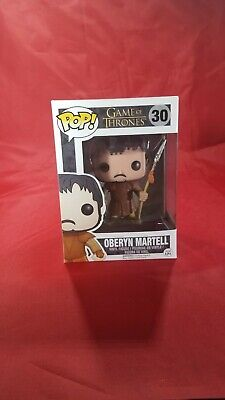 Game of Thrones Oberyn Martell #30 Funko Pop Ships w Protector Vaulted