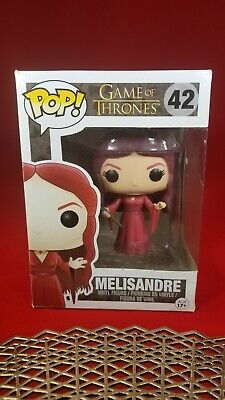 Game of Thrones Melisandre #42 Funko Pop Ships w Protector Vaulted