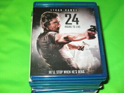 Blu Ray Movie 24 Hours To Live Ethan Hawke
