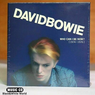 Sealed David Bowie Who Can I Be Now CD 1974-1976 12CD New Sealed Version Drop