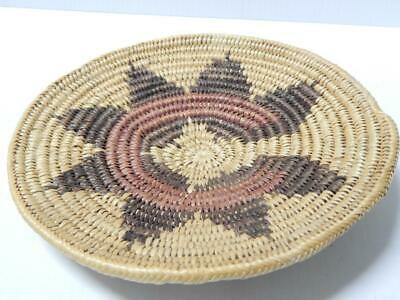 "VINTAGE 9 1/2""d NAVAJO / SAN JUAN PAIUTE INDIAN WEDDING BASKET - nice patina"