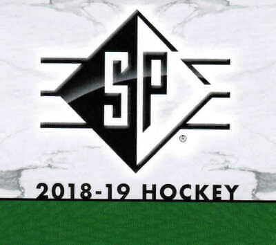 18/19 2018 UD UPPER DECK SP HOCKEY BASE CARDS (#1-100) U-Pick From List
