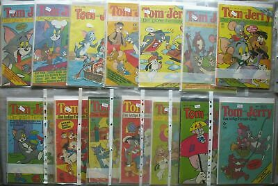 Tom and Jerry Tesslof and Condor Collection Convolute 126 Piece 3 Folders