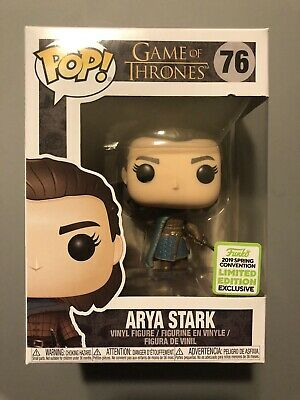 Funko Pop! Game of Thrones Arya Stark #76 ECCC 2019 Shared Exclusive