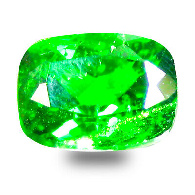 1.87 ct  Lovely Cushion Shape (8 x 6 mm) Green Chrome Diopside Natural Gemstone