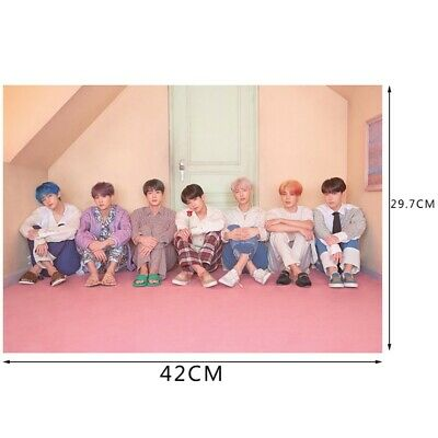 KPOP BTS New Album MAP OF THE SOUL PERSONA Wall Poster Bangtan Boys Version 3 LF