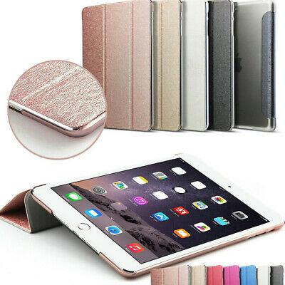 Leather Smart Case for New iPad 2018 Back Cover Magnetic iPad Mini Air 2 Pro 9.7