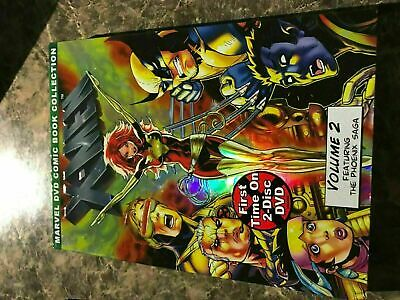 X Men Marvel Comic Book Collection Volume 2 - Dvd Size - Slip Cover Only