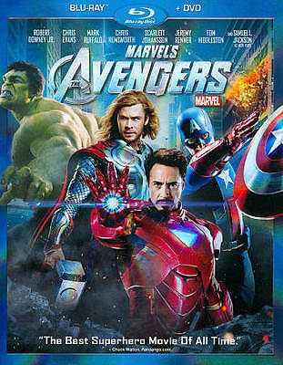 MARVELS The Avengers (Blu-ray ONLY )