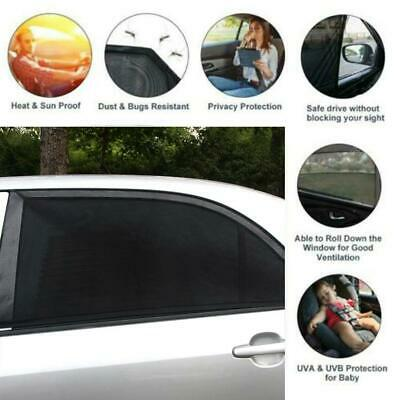 4Pcs Auto Sun Shade Front Rear Window Screen Cover Sunshade Protector HOT