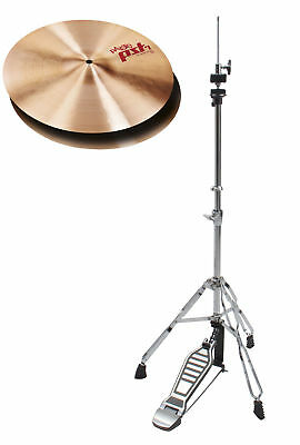 "TOP Paiste 14"" PST7 Heavy Hi-Hat Becken mit warmem Sound traditionellen Look"