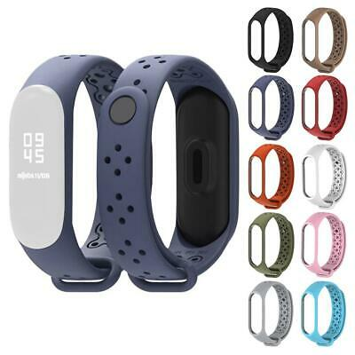 Replacement Silicone Watch Wrist Sports Band Strap For Mi Band 3 4Smart Bracelet
