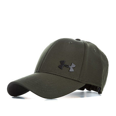 Under Armour Mens Storm Adj Cap in Green - One Size