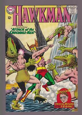 Hawkman # 7  Attack of the Crocodile Men !  grade 8.0 scarce book !