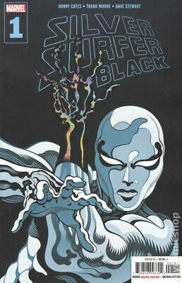 Silver Surfer Black (Marvel) 1A 2019 VF Stock Image