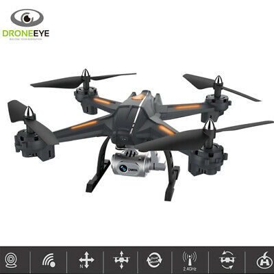 Droneeye Scout Live Streaming & Video Recording Camera RC Drone Quadcopter