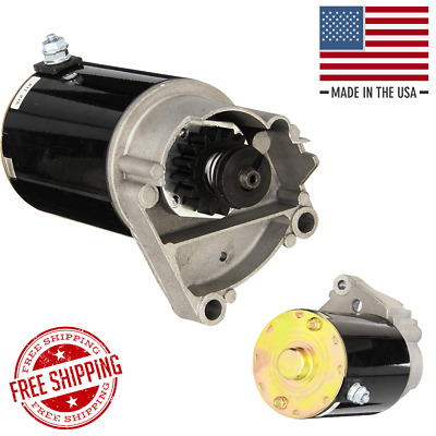 Electric Starter For Briggs Stratton Opposed Twin Cylinder 13-20 HP Mower Motor