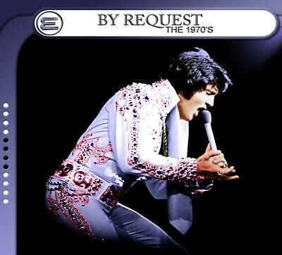 """Elvis Presley """"By Request the 70's"""" Included EXTREMELY RARE tracks! New edits"""