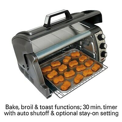 Euro Pro TO161A Countertop 6 Slice Toaster Oven: Toasters