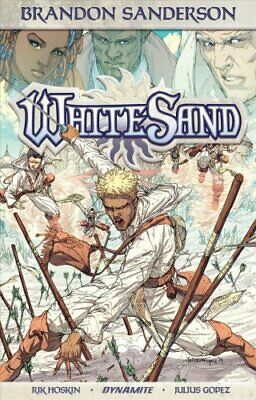 Brandon Sanderson's White Sand Volume 1 (Softcover) 9781524104863 | Brand New