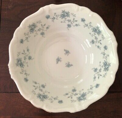 Johann Haviland Blue Garland Serving Vegetable Bowl Bavaria Germany Excellent