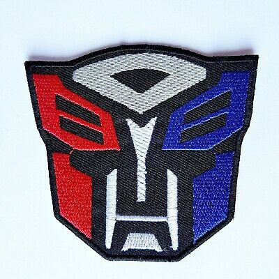Transformers Film Series Iron On Patch Sew On Embroidered Patch T shirt Patch
