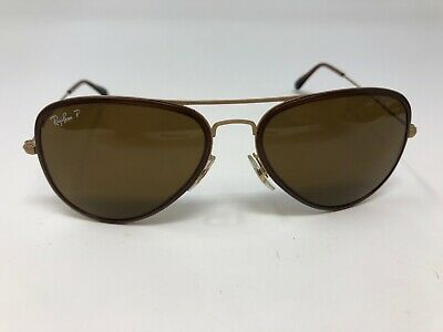 436387dd8 Ray Ban Sunglasses Frame RB 3513-M 149/83 56mm Matte Gold Tortoise BN62