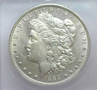 1888-O Morgan Silver Dollar  Icg Ms61