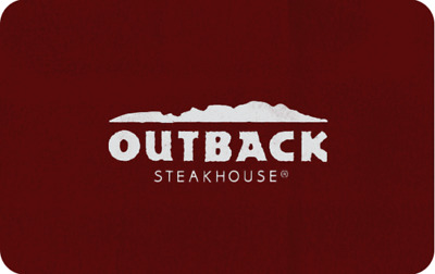 Outback Steakhouse Gift Card $300 Value ( All Bloomin Brands Inc restaurants)