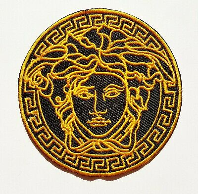 Medusa Iron On Patch Sew On Embroidered Patch T shirt Jacket Patch