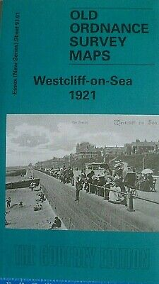 Old Ordnance Survey  Maps Westcliff On Sea Essex 1921 Godfrey Edition New
