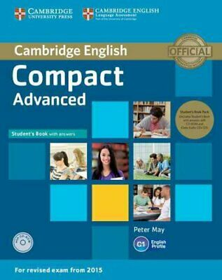 Compact Advanced Student's Book Pack (Student's Book with Answe... 9781107418196