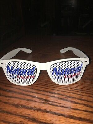 NATURAL LIGHT Beer Advertisement Sunglasses Cool Collectible