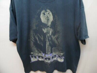 Men's Vintage The Doors Resurreccion Jim Morrison Embroidered T-shirt (i792)