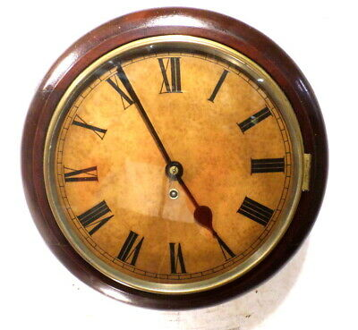 Round English Fusee Gallery Dial Clock With Heavy Brass Movement