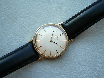 Omega Vintage 14k G.F. with cal. 620 Mechanical mens wristwatch Watch