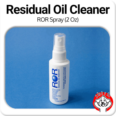 ROR Professional Lens Cleaner - 2oz Spray Bottle (Residual Oil Remover)